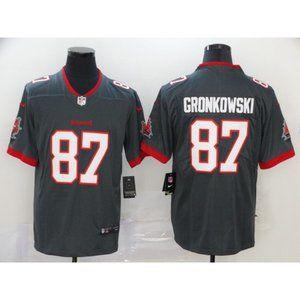 Rob Gronkowski Gray Jersey